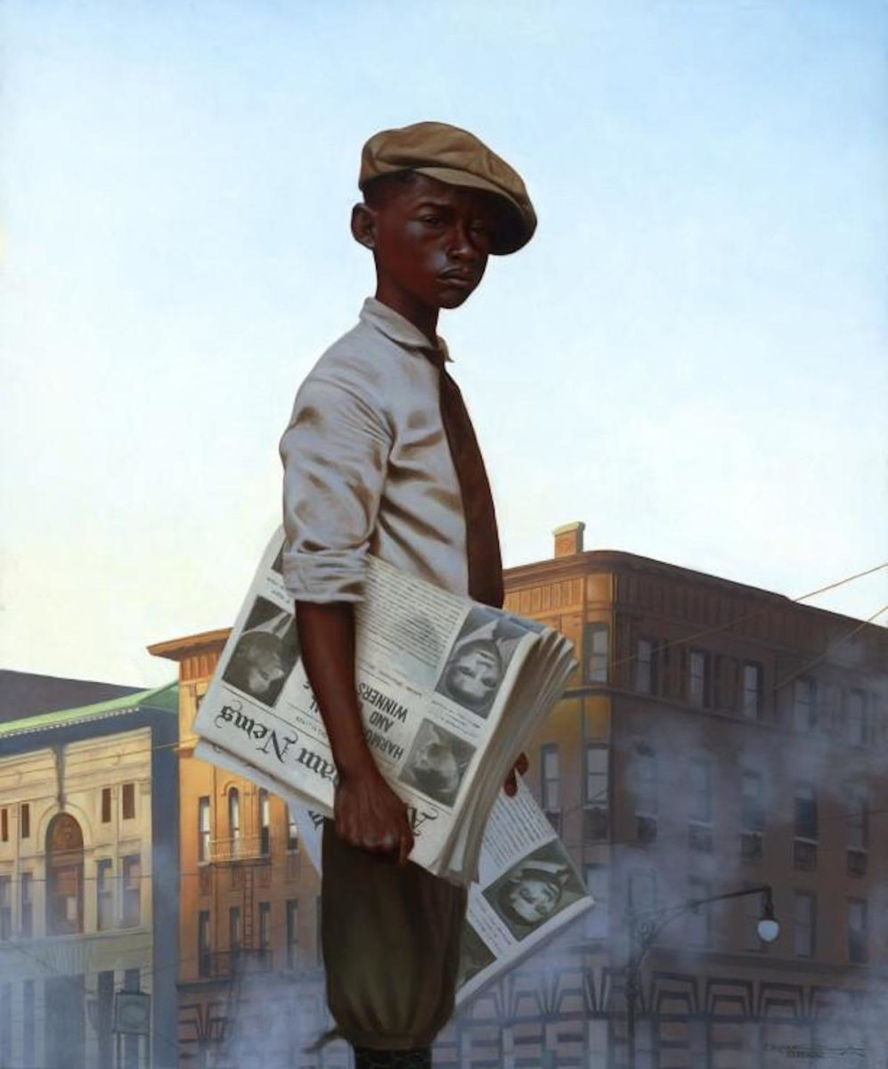 Kadir Nelson, A Hole In The Roof, African American Art, Black Art, KOLUMN Magazine, KOLUMN, KINDR'D Magazine, KINDR'D, Willoughby Avenue, Wriit,