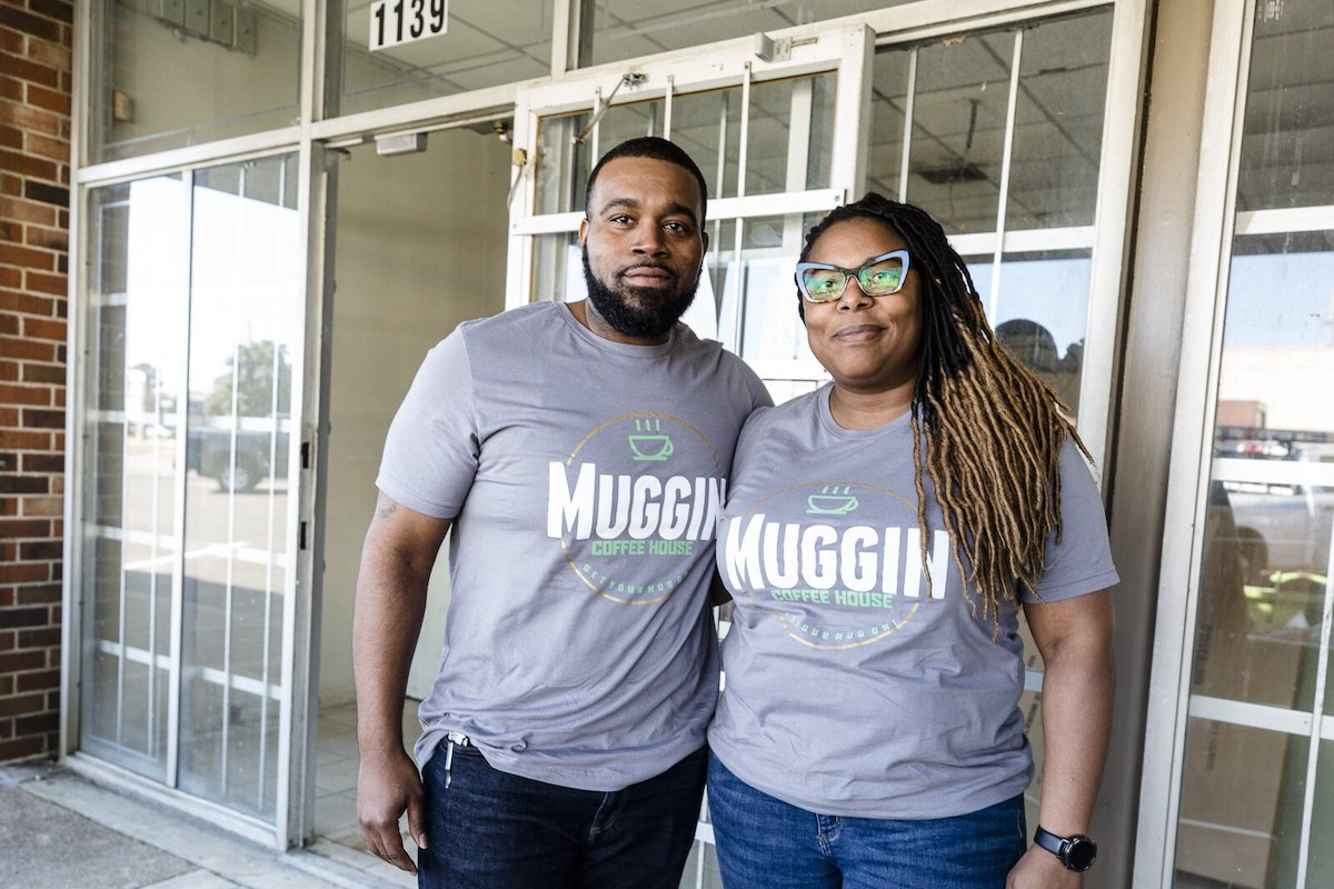 Muggin' Coffeehouse, African American Business, Black Business, African American Entrepreneur, Black Entrepreneur, KOLUMN Magazine, KOLUMN, KINDR'D Magazine, KINDR'D, Willoughby Avenue, Wriit,
