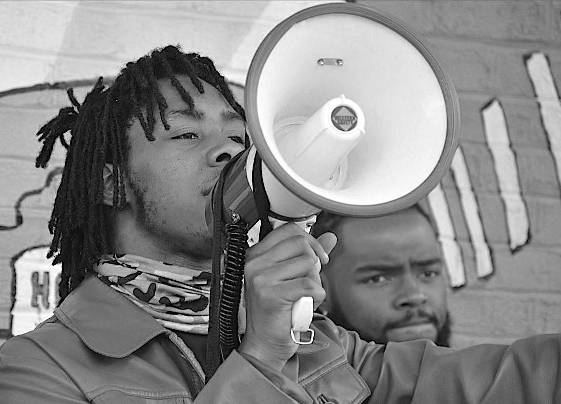 Travon Brown, Black Lives Matter, BLM, BLM Protest, KOLUMN Magazine, KOLUMN, KINDR'D Magazine, KINDR'D, Willoughby Avenue, Wriit,