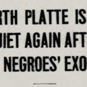 "North Platte, Louis ""Slim"" Seeman, African American History, Black History, KOLUMN Magazine, KOLUMN, KINDR'D Magazine, KINDR'D, Willoughby Avenue, Wriit,"