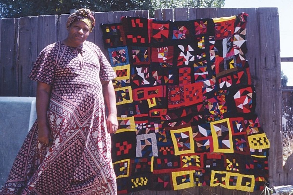 Rosie Lee Tompkins, African American Art, Black Art, Quilting, KOLUMN Magazine, KOLUMN, KINDR'D Magazine, KINDR'D, Willoughby Avenue, Wriit,