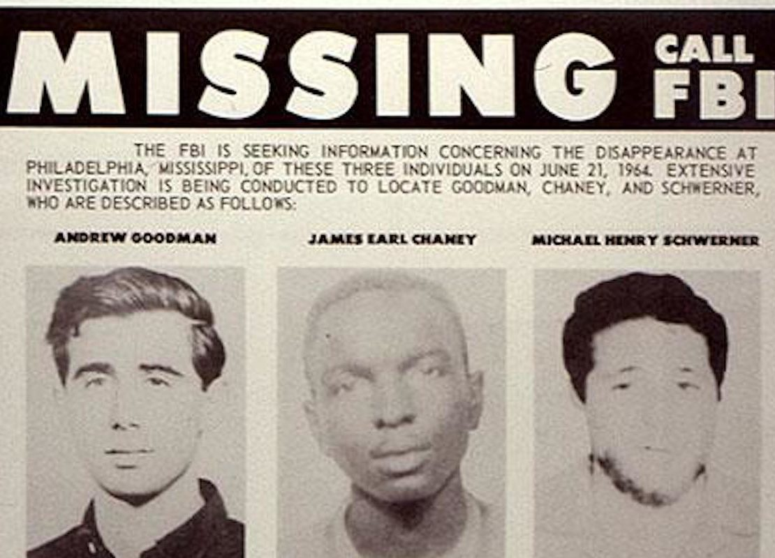 James Chaney, Andrew Goodman, Michael Schwerner, Freedom Riders, Freedom Summer, Civil Rights, Civil Rights Activist, Mississippi, Mississippi Racism, Race, Racism, American Racism, KOLUMN Magazine, KOLUMN, KINDR'D Magazine, KINDR'D, Willoughby Avenue, Wriit,