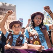 Radical Monarchs, African American Girl Scout, Black Girl Scout, African American Girl Scouts, Black Girl Scouts, KOLUMN Magazine, KOLUMN, KINDR'D Magazine, KINDR'D, Willoughby Avenue, Wriit,