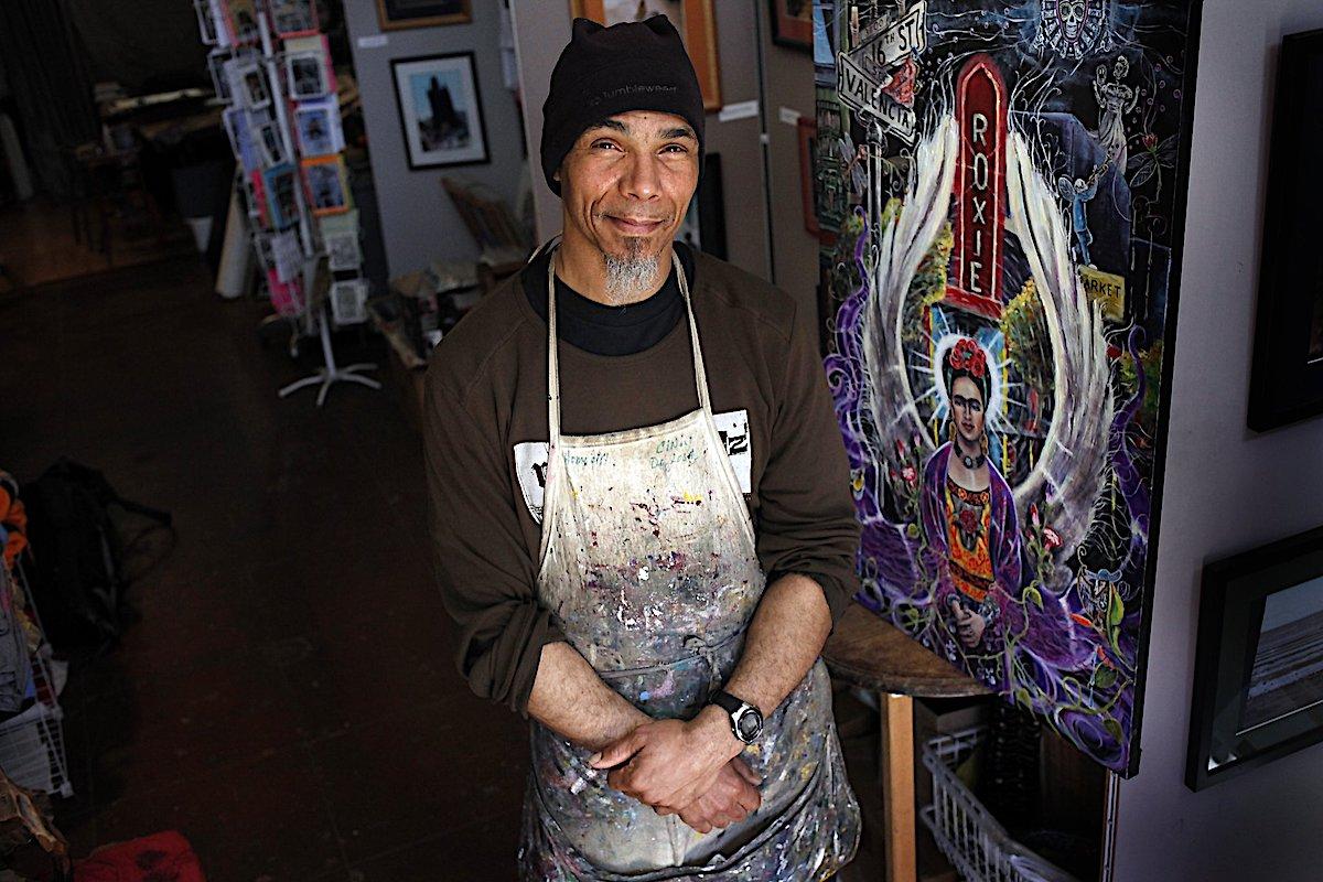 Ronnie Goodman, African American Art, Black Art, African American Artist, Black Artist, San Francisco Artist, Street Art, KOLUMN Magazine, KOLUMN, KINDR'D Magazine, KINDR'D, Willoughby Avenue, Wriit,