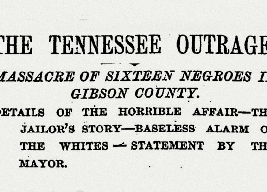 The Tennessee Outrage, Gibson County Jail, KOLUMN Magazine, KOLUMN, KINDR'D Magazine, KINDR'D, Willoughby Avenue, Wriit,