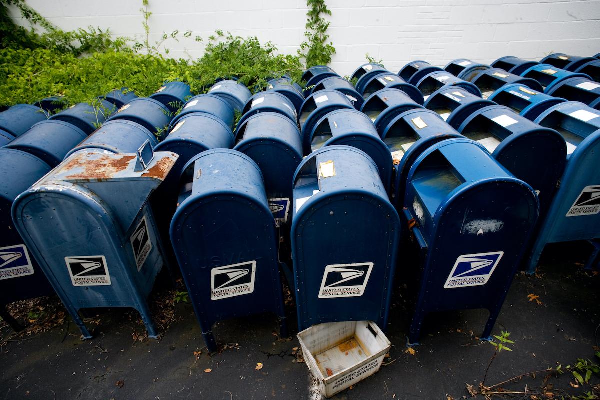 Post Office, United States Postal Service, USPS, Voter Suppression, Trump Voter Suppression, KOLUMN Magazine, KOLUMN, KINDR'D Magazine, KINDR'D, Willoughby Avenue, Wriit,