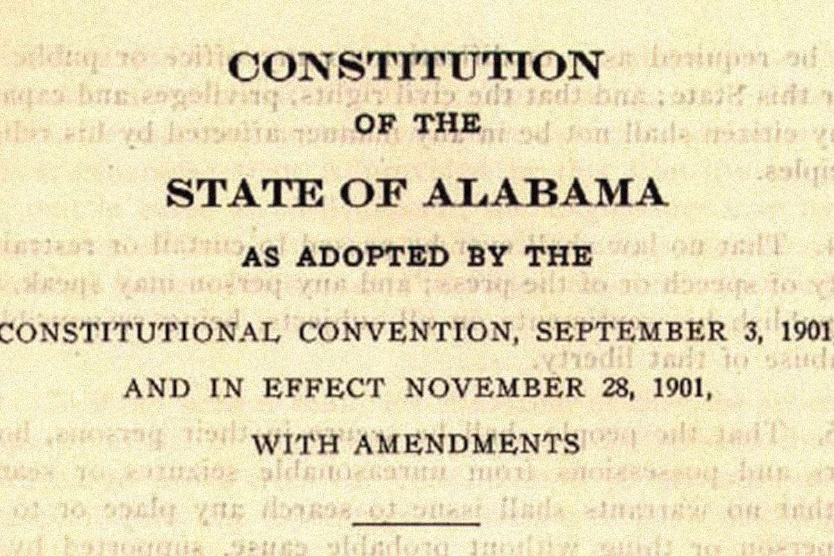 Alabama Constitution, American History, U.S. History, KOLUMN Magazine, KOLUM, KINDR'D Magazine, KINDR'D, Willoughby Avenue, Wriit,