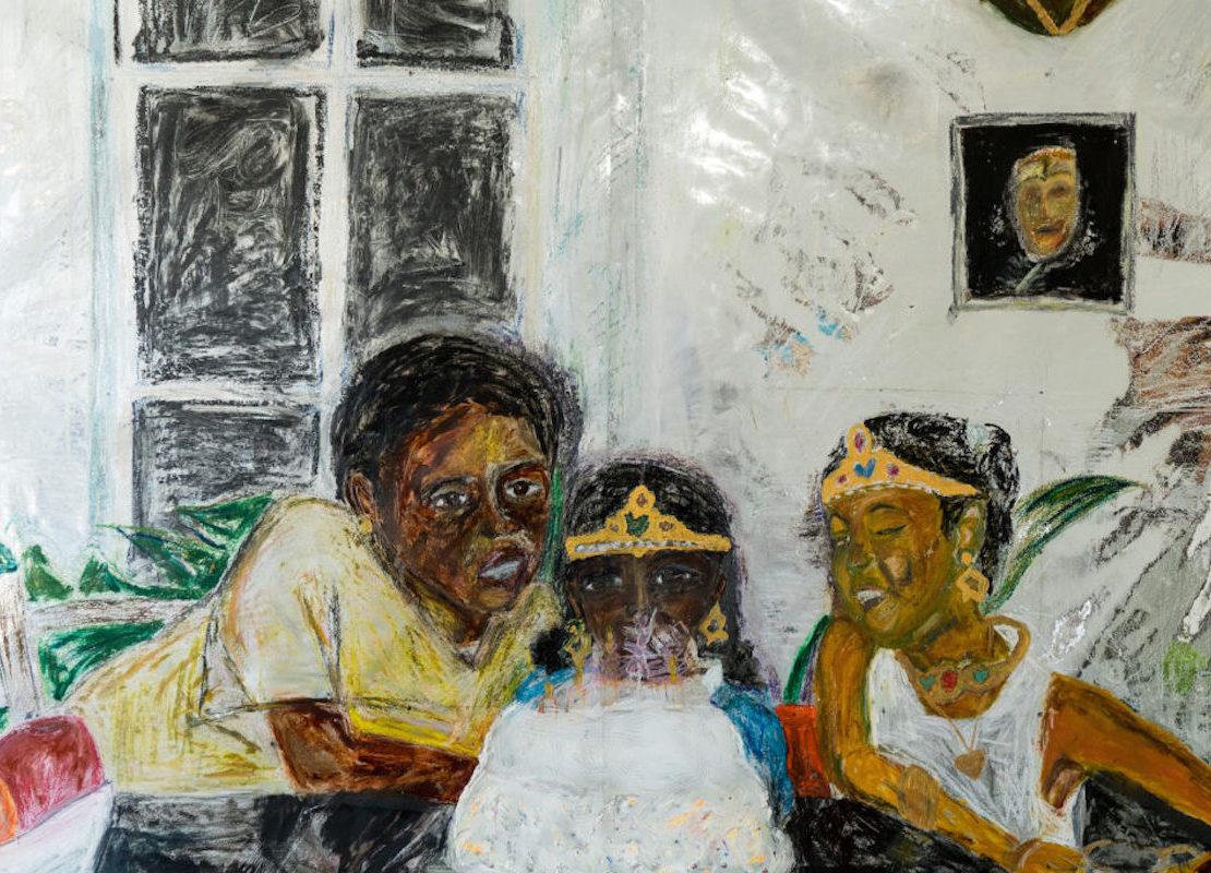 Black Art Spaces, Dominique Gallery, African American Art, Black Art, KOLUMN Magazine, KOLUMN, KINDR'D Magazine, KINDR'D, Willoughby Avenue, Wriit,