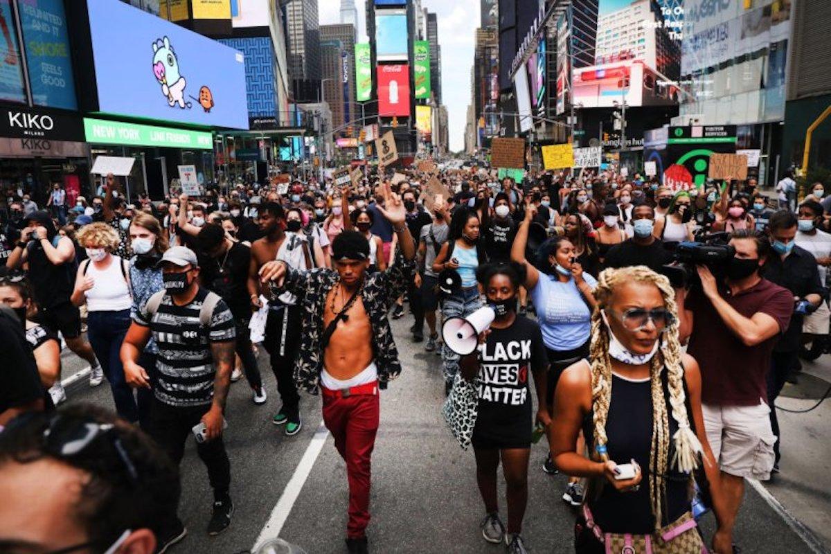 Black Lives Matter, BLM, Black Lives Matter Protests, Protests, KOLUMN Magazine, KOLUMN, KINDR'D Magazine, KINDR'D, Willoughby Avenue, Wriit,