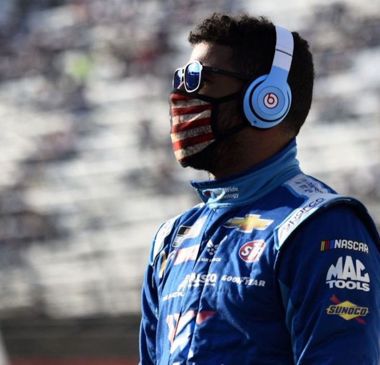 NASCAR, Bubba Wallace, Michael Jordan, African American Athlete, Black Athlete, African American Race Car Driver, Black Race Car Driver, KOLUMN Magazine, KOLUMN, KINDR'D Magazine, KINDR'D, Willoughby Avenue, Wriit,