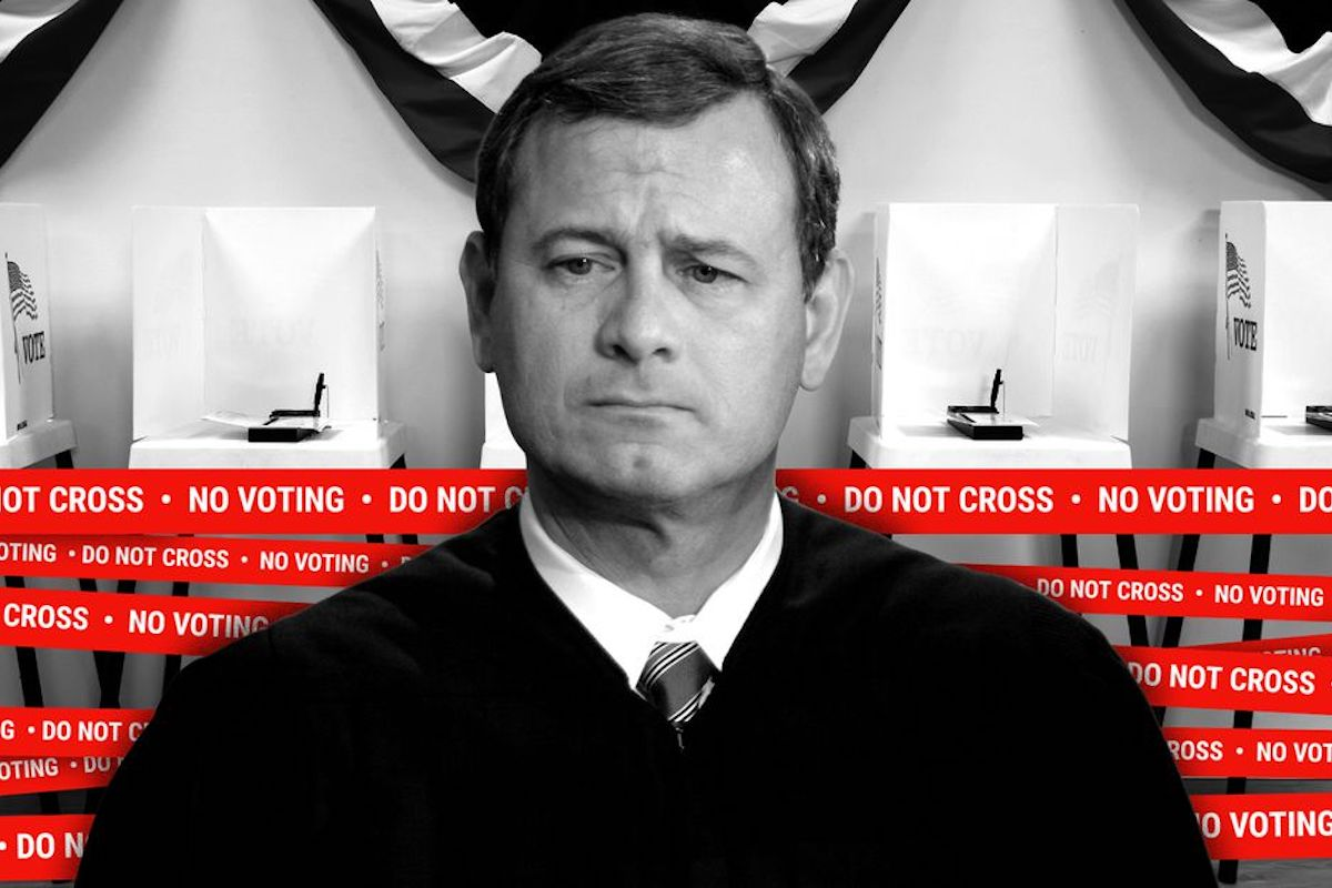Chief Justice John Roberts, John Roberts, Supreme Court of The United States, SCOTUS, Voting Rights Act, Voting Rights, KOLUMN Magazine, KOLUMN, KINDR'D Magazine, KINDR'D, Willoughby Avenue, Wriit,
