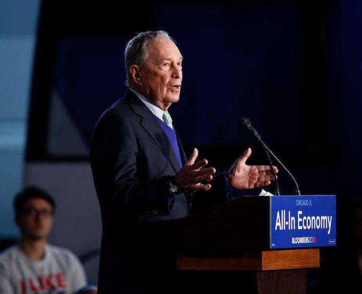 Michael Bloomberg, Mike Bloomberg, Politics, African American Vote, Black Vote, KOLUMN Magazine, KOLUMN, KINDR'D Magazine, KINDR'D, Willoughby Avenue, Wriit, TRYB,