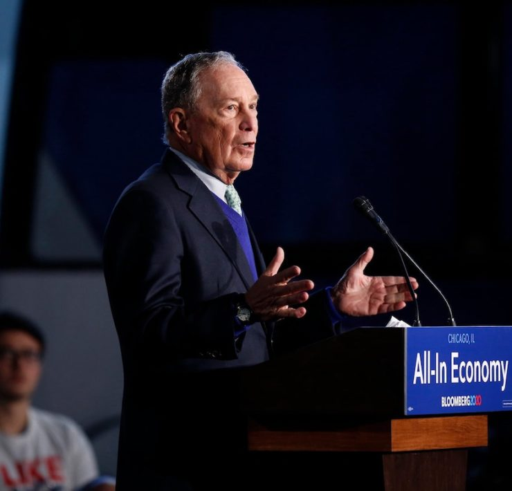 Michael Bloomberg, Mike Bloomberg, Politics, African American Vote, Black Vote, KOLUMN Magazine, KOLUMN, KINDR'D Magazine, KINDR'D, Willoughby Avenue, Wriit, TRYB,