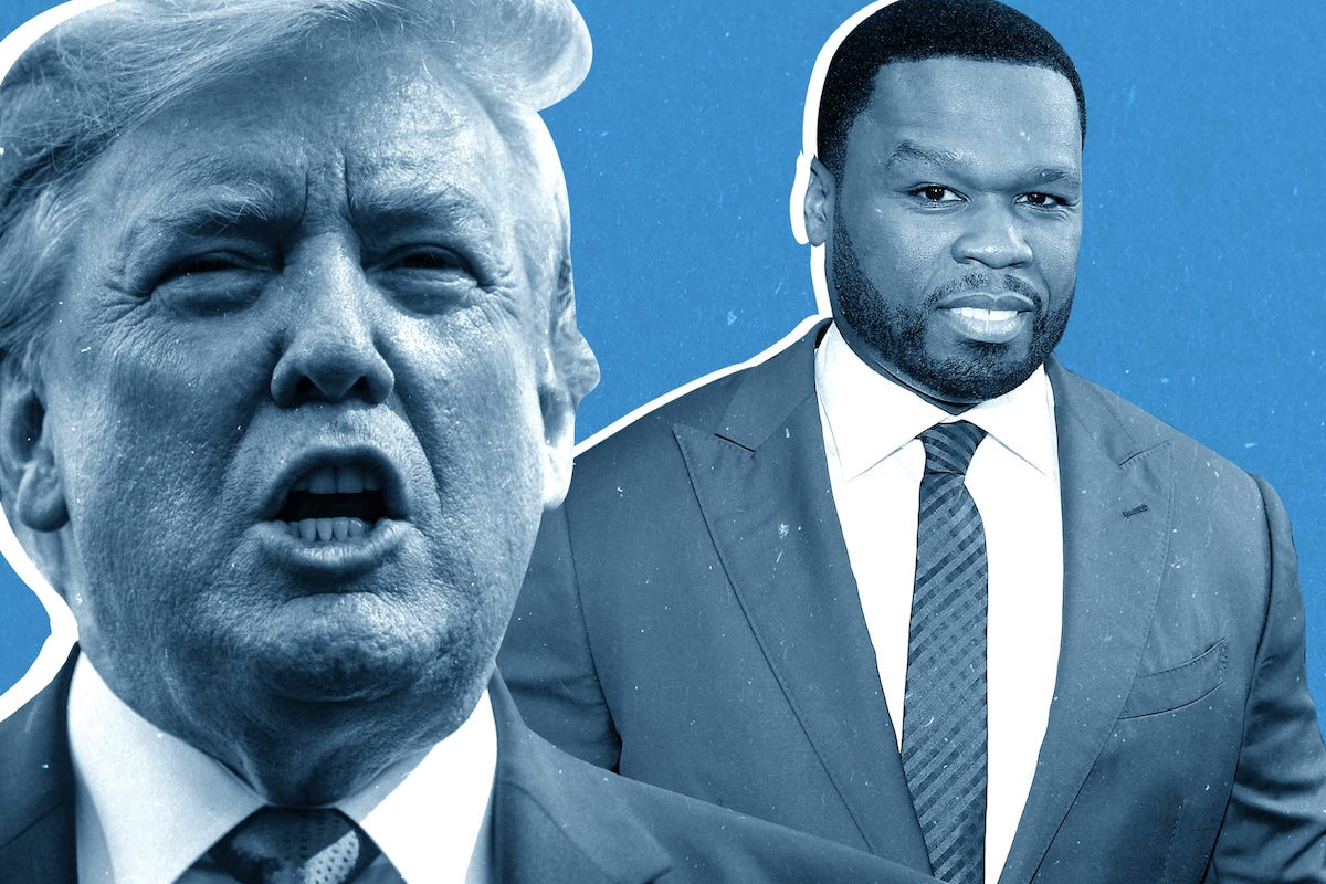 50 Cent, Trump, African American Politics, Black Vote, KOLUMN Magazine, KOLUMN, KINDR'D Magazine, KINDR'D, Willoughby Avenue, WRIIT, TRYB,