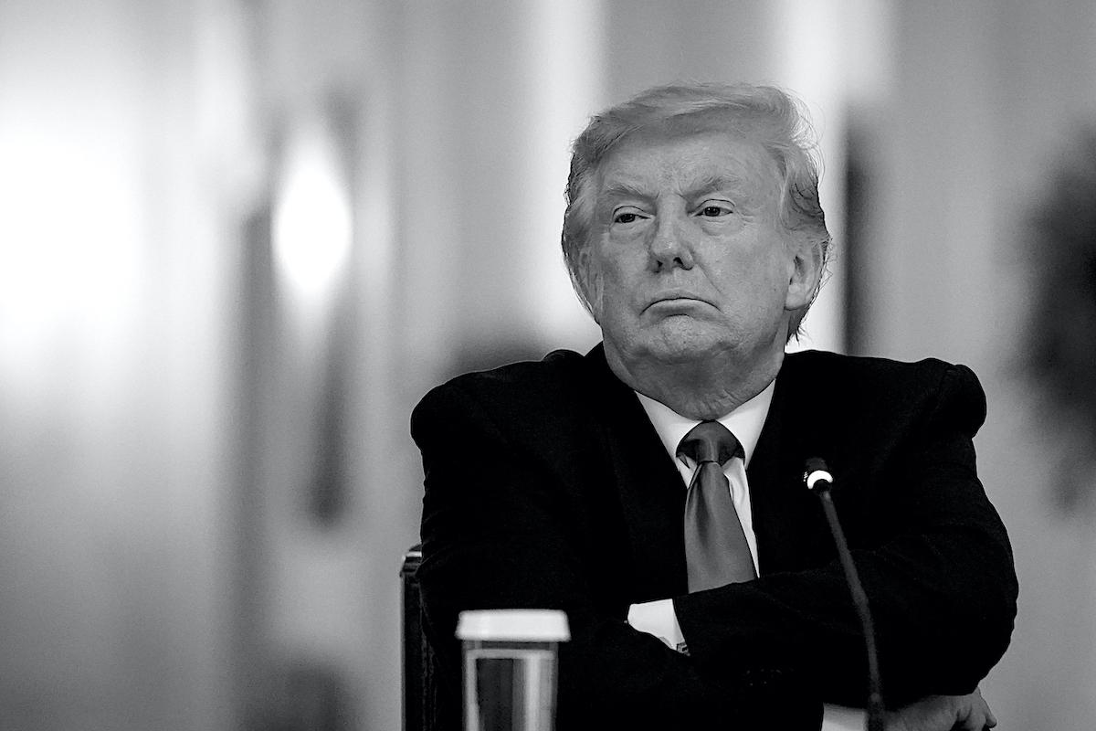 Trump, Donald Trump, Hoax, COVID Denier, COVID-19, Coronavirus, Education, Teachers with COVID-19, KOLUMN Magazine, KOLUMN, KINDR'D Magazine, KINRD'D, Willoughby Avenue, Wriit,