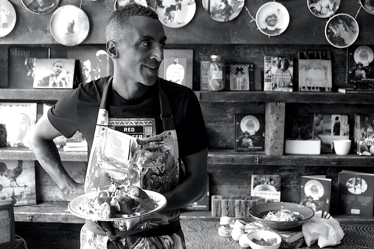 Marcus Samuelsson, African American Culture, African American Cuisine, Black Cuisine, KOLUMN Magazine, KOLUMN, KINDR'D Magazine, KINDR'D, Willoughby Avenue, Wriit, TRYB,