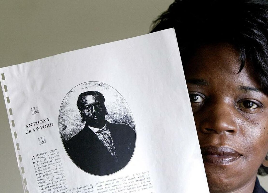 Anthony Crawford, South Carolina, South Carolina History, Black History, African American History, KOLUMN Magazine, KOLUMN, KINDR'D Magazine, KINDR'D, Willoughby Avenue, WRIIT, TRYB,