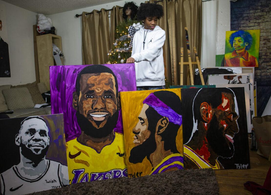 Tyler Gordon, African American Art, African American Artist, Black Art, Black Artist, KOLUMN Magazine, KOLUMN, KINDR'D Magazine, KINDR'D, Willoughby Avenue, WRIIT, TRYB,