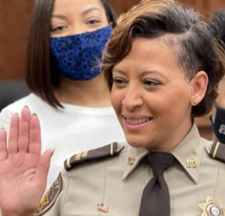 Tia McWilliams, Georgia Sheriff, African American Law Enforcement, Black Law Enforcement, KOLUMN Magazine, KOLUMN, KINDR'D Magazine, KINDR'D, Willoughby Avenue, WRIIT, TRYB,