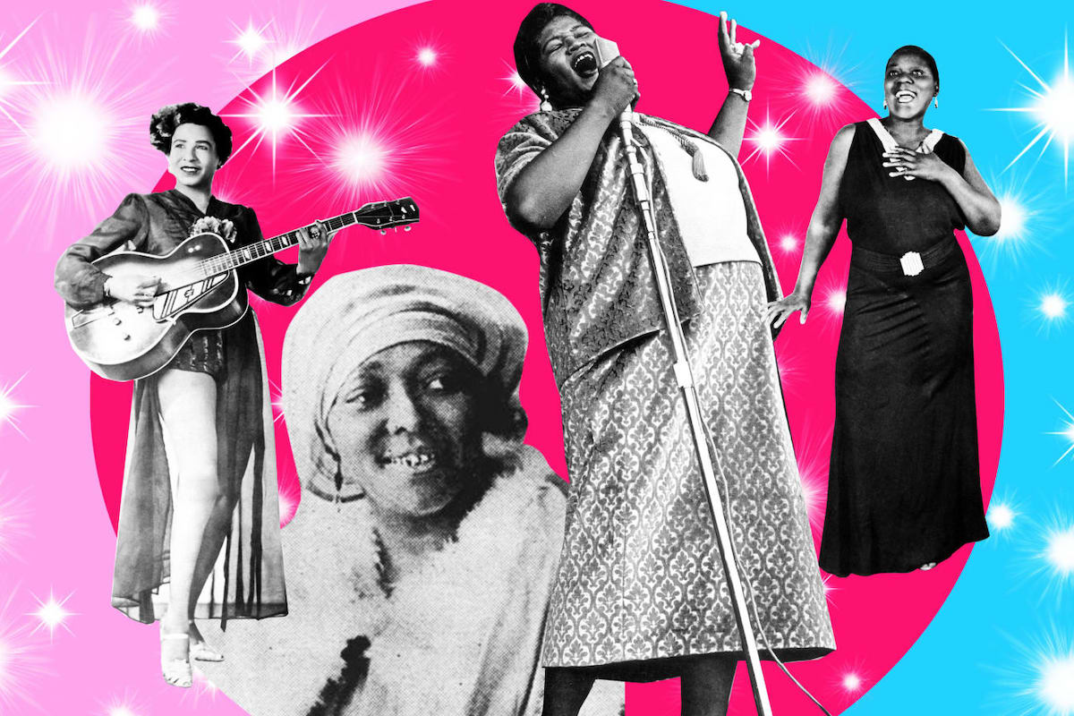 "Memphis Minnie, Willie Mae ""Big Mama"" Thornton, Bessie Smith, Sister Rosetta Tharpe, Black Excellence, African American Inventors, Black Inventors, African American History, Black History, KOLUMN Magazine, KOLUMN, KINDRD Magazine, WRIIT, Willoughby Avenue, TRYB,"