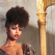 Madison Calley, African American Music Artist, Black Harpist, African American Harpist, Black Excellence, KOLUMN Magazine, KOLUMN, Willoughby Avenue, WRIIT, TRYB,